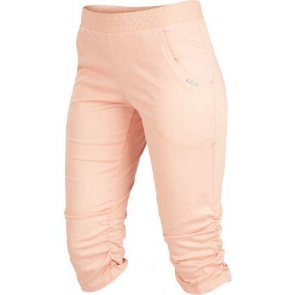 Dámské 3/4 kalhoty LITEX růžové