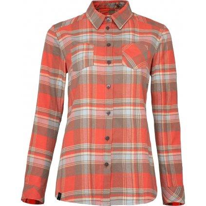 Dámská flanelová košile WOOX Camisia Emberglow Chica