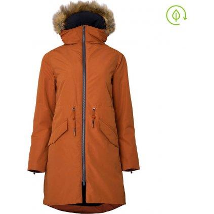 Dámská zimní bunda WOOX Ventus Calida Umber Chica
