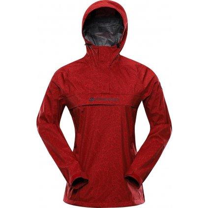 Dámská nepromokavá bunda ALPINE PRO Ptx Padriga červená