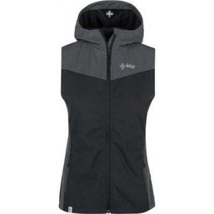 Dámská softshellová vesta KILPI Cortina-w černá