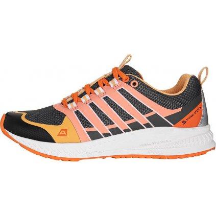 Dámské běžecká obuv ALPINE PRO Carrola šedá