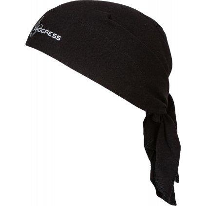 Trojcípý funkční šátek PROGRESS B Sat černá