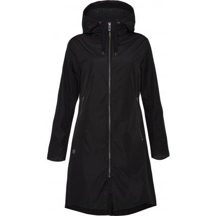 Dámský kabát WOOX Nimbus Urban Black Onyx Chica