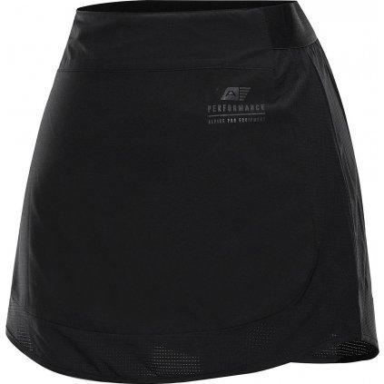 Dámská rychleschnoucí sukně ALPINE PRO Chupa 2 černá