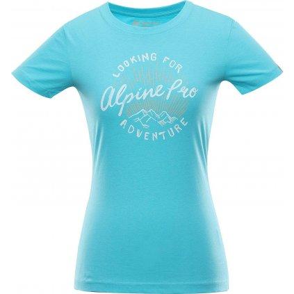 Dámské triko ALPINE PRO Unega 8 tyrkysové