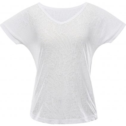 Dámské triko ALPINE PRO Harisa 4 bílé