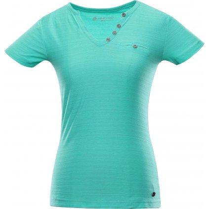 Dámské triko ALPINE PRO Ropera 4 tyrkysové