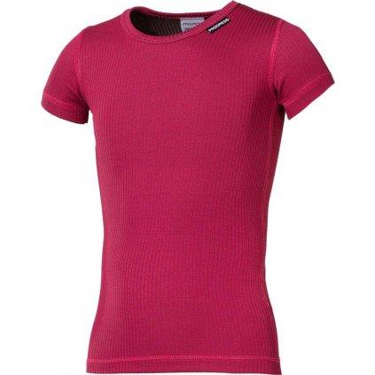 Dětské funkční tričko PROGRESS Ms Nkrd malinová