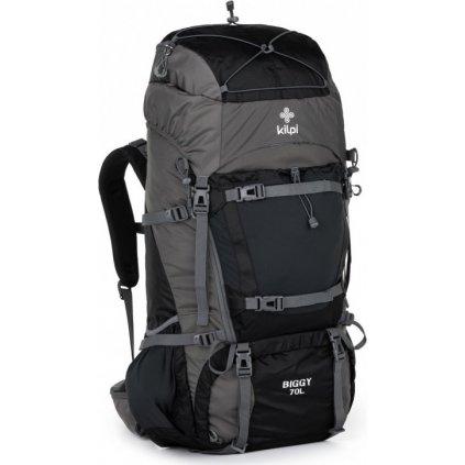 Turistický batoh KILPI Biggy-u 70 L tmavě šedá