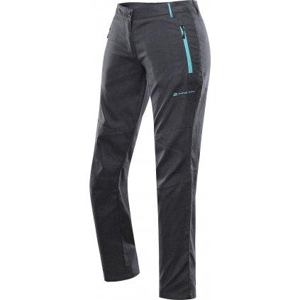 Dámské softshellové kalhoty ALPINE PRO Muria 4 šedé