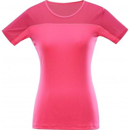 Dámské triko ALPINE PRO Leona 2 růžové