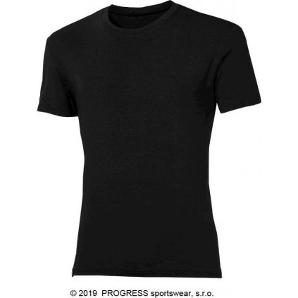 Pánské bambusové triko PROGRESS Pioneer černá