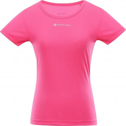 Dámské triko ALPINE PRO Nasmasa 3 růžové