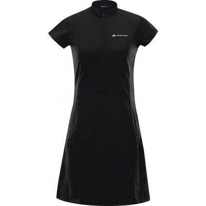 Dámské šaty ALPINE PRO Vakia 4 černé