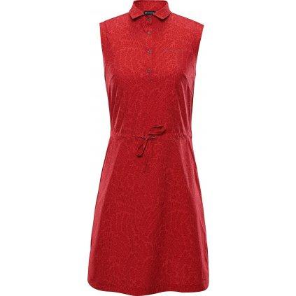 Dámské šaty ALPINE PRO Pata 2 červené