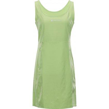 Dámské šaty ALPINE PRO Elanda 4 zelené