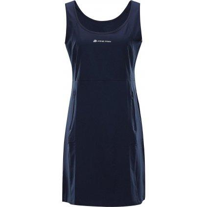 Dámské šaty ALPINE PRO Elanda 4 modré