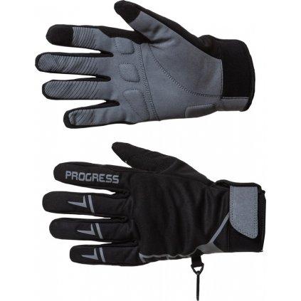 Zimní rukavice PROGRESS Wintersport Gloves černá