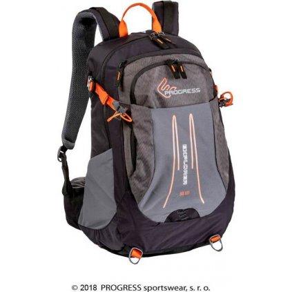 Turistický batoh PROGRESS Explorer 25L černá
