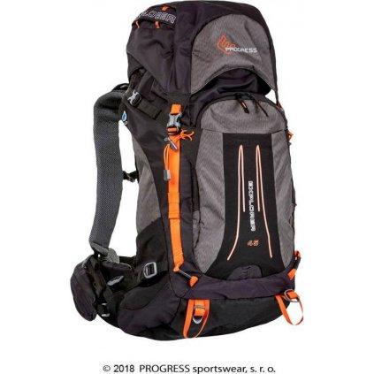 Turistický batoh PROGRESS Explorer 45L černá
