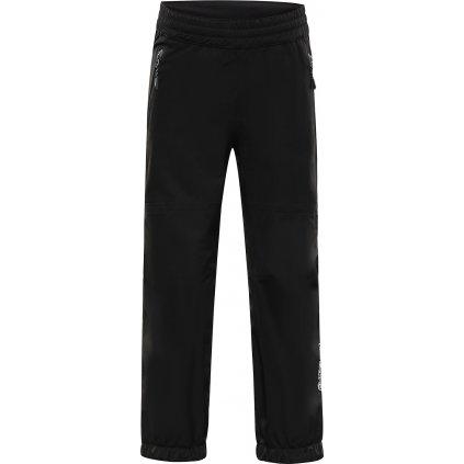 Dětské nepromokavé kalhoty ALPINE PRO Olweno černé