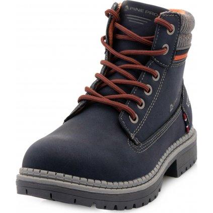Dětská zimní obuv ALPINE PRO Fewro modrá