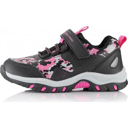 Dětská outdoorová obuv ALPINE PRO Blodo růžová