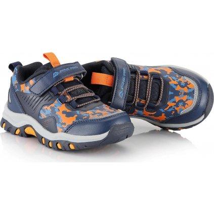 Dětská outdoorová obuv ALPINE PRO Blodo modrá