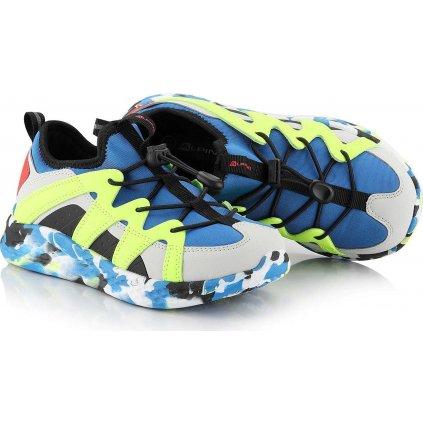 Dětská obuv s reflexními prvky ALPINE PRO Oriso modrá