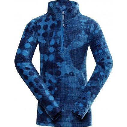 Dětská fleecová mikina ALPINE PRO Augedo modrá