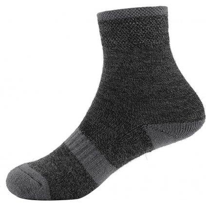 Dětské ponožky ALPINE PRO Werbo šedé