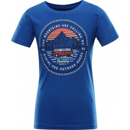 Dětské triko ALPINE PRO Dodgo 4 modré