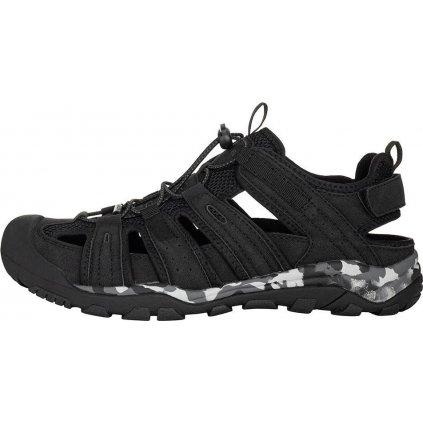 Unisex sandále ALPINE PRO Horade černé