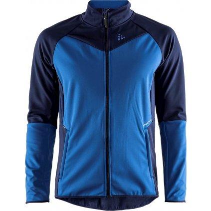 Pánská softshellová bunda CRAFT Glide modrá