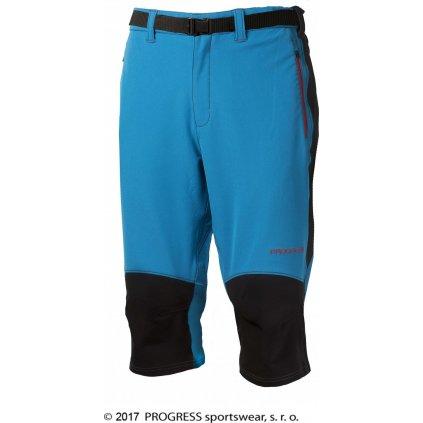 Pánské outdoorové 3/4 kalhoty PROGRESS Axcess 3Q sv.modrá
