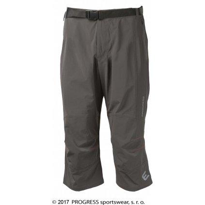 Pánské 3/4 turisticko-lezecké kalhoty PROGRESS Rocky 3Q šedá