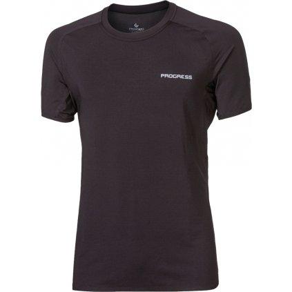Pánské sportovní tričko PROGRESS Raptor černá