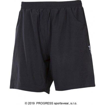Pánské sportovní šortky PROGRESS Typhoon černá