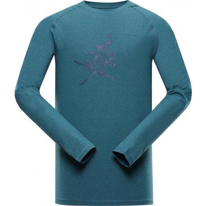 Pánské triko ALPINE PRO Tar 2 modré