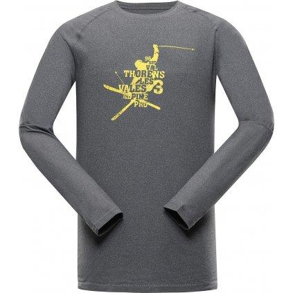 Pánské triko ALPINE PRO Tar 2 šedé