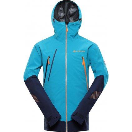 Pánská outdoorová bunda ALPINE PRO PTX Tor modrá