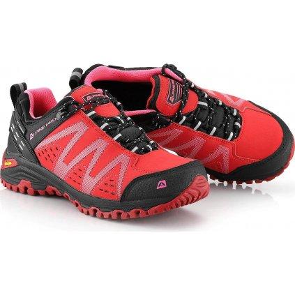 Dámská outdoorová obuv ALPINE PRO PTX Chefornak 2 červená