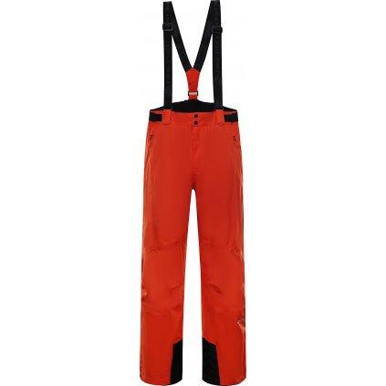 Pánské lyžařské kalhoty ALPINE PRO Sango 7 oranžové