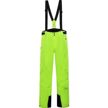 Pánské lyžařské kalhoty ALPINE PRO Sango 7 zelené