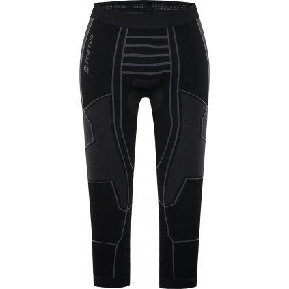 Pánské termo kalhoty ALPINE PRO Pineios 3 černé