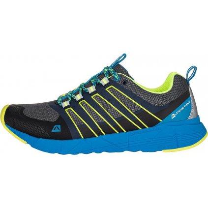 Pánská běžecká obuv ALPINE PRO Nels modrá