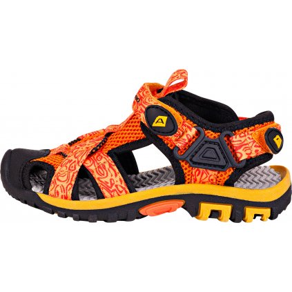 Dětské sandále ALPINE PRO Barbielo oranžové
