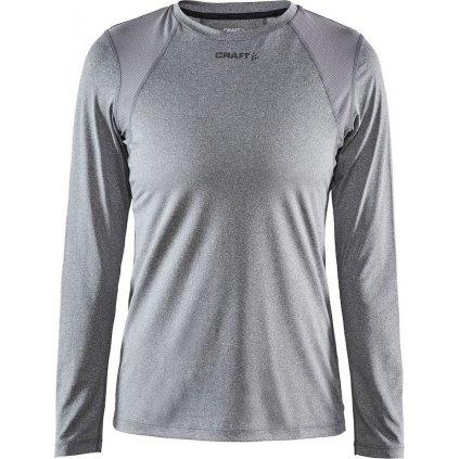 Dámské funkční tričko CRAFT ADV Essence LS tmavě šedá