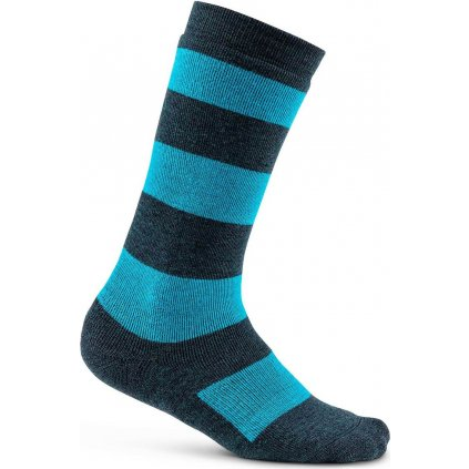 Dětské termo ponožky CRAFT Warm Comfort Junior tmavě modrá